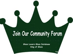 Glass Lovers Glass Database Community Forum